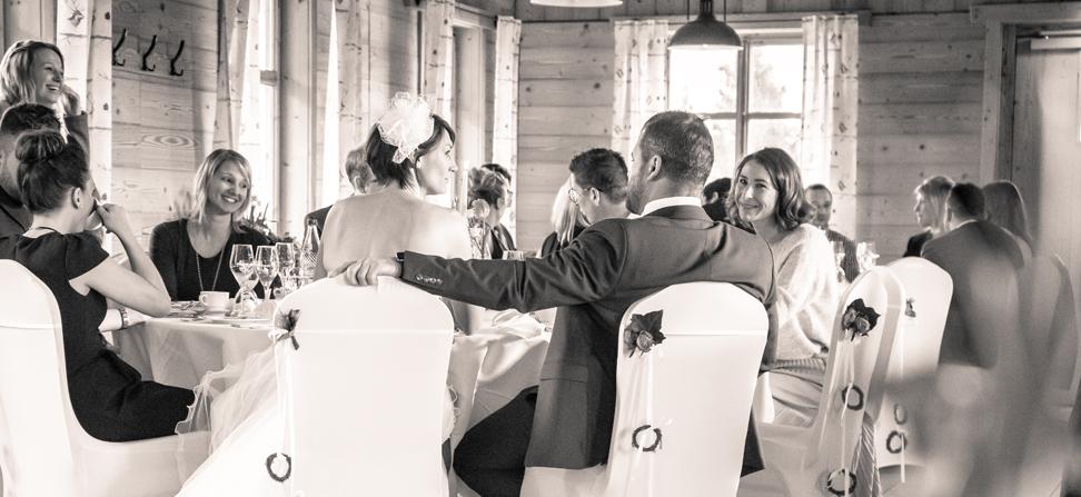 Hochzeitsfeier im Rigi Almstadl